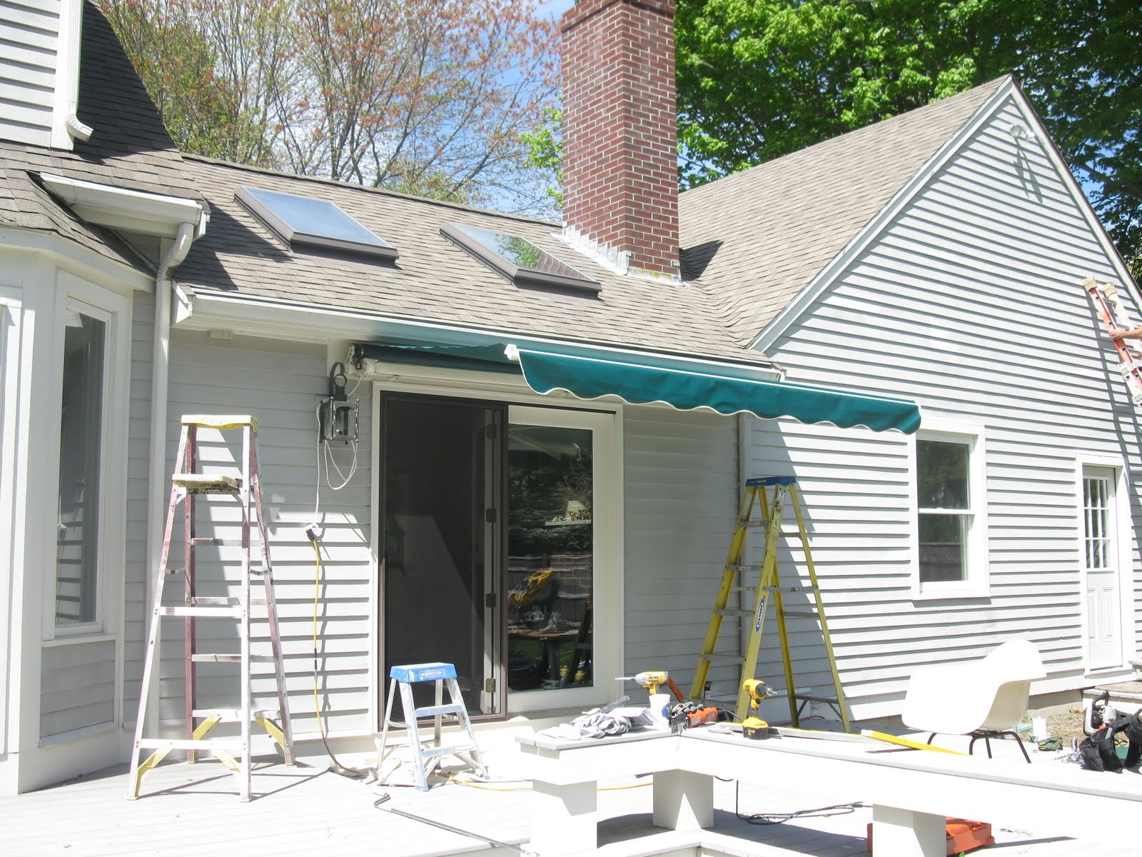 Installing A Sunsetter Awning