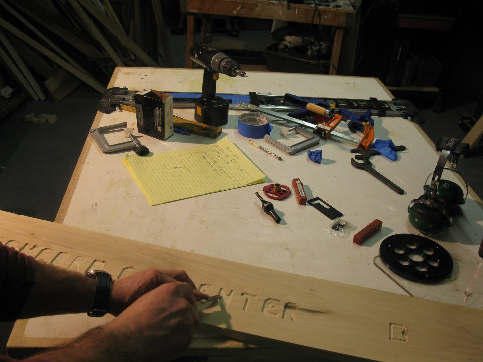 Milescraft sign making jig sealing is important because once its dry belt sanding the sign face is recommended so that the letters stand spiritdancerdesigns Choice Image