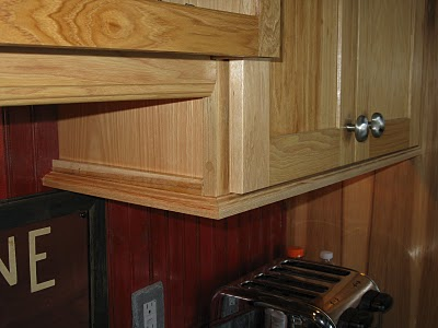 Installing Molding For Under Cabinet Lighting A Concord