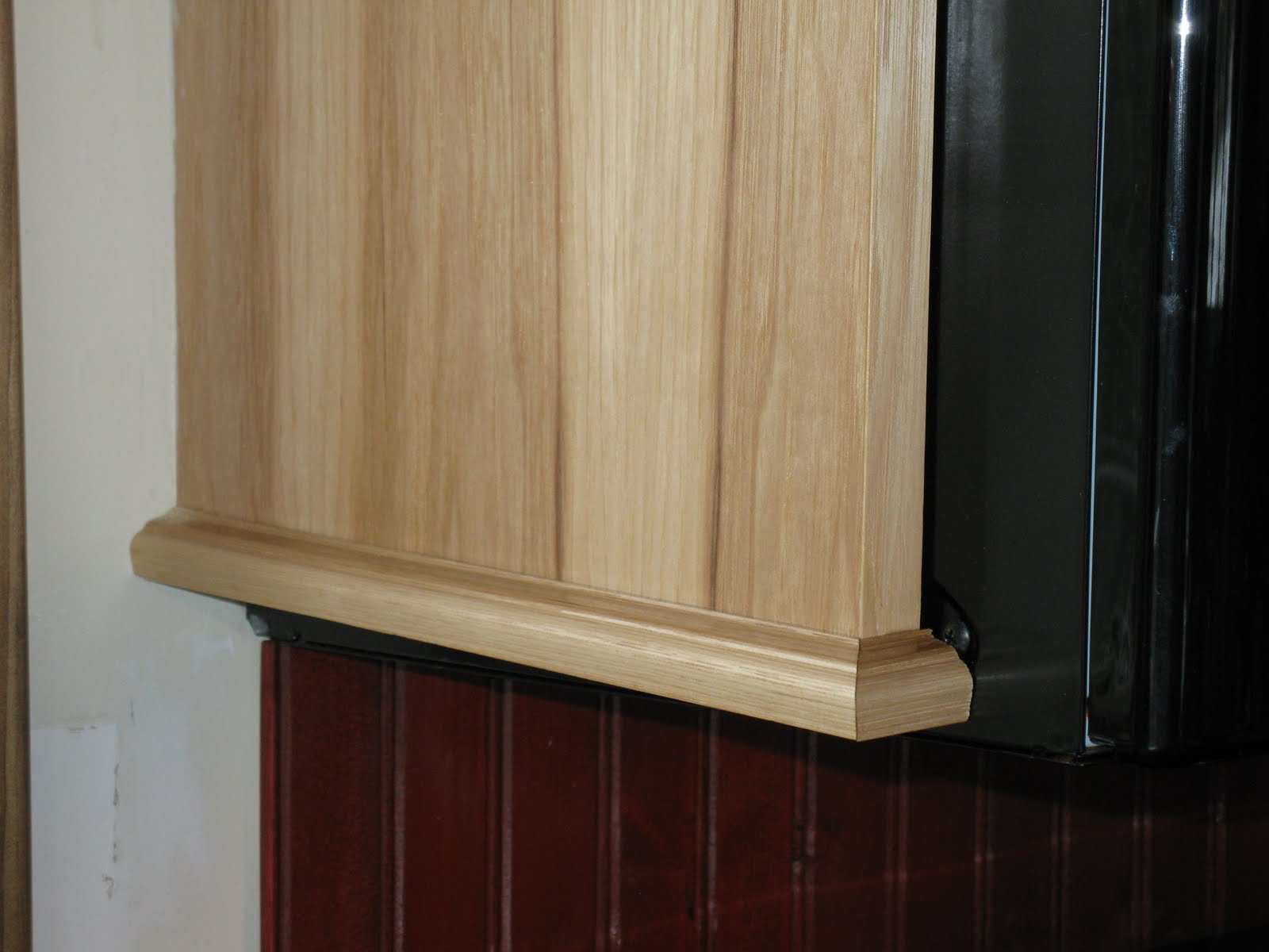 Cabinet Bottom Trim Installing Molding For Under Cabinet Lighting A Concord Carpenter