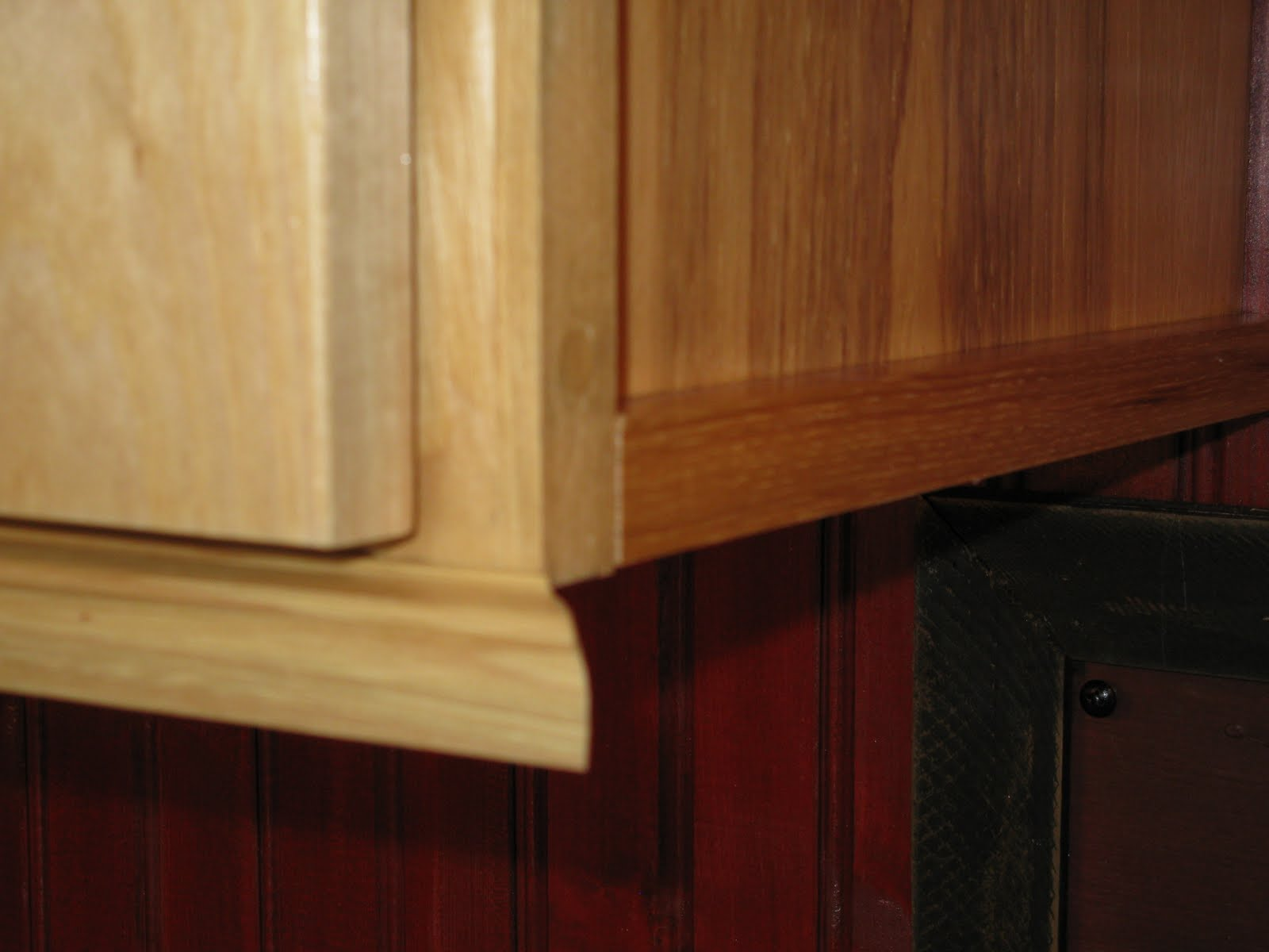 Installing Molding For Under Cabinet Lighting A Concord Carpenter
