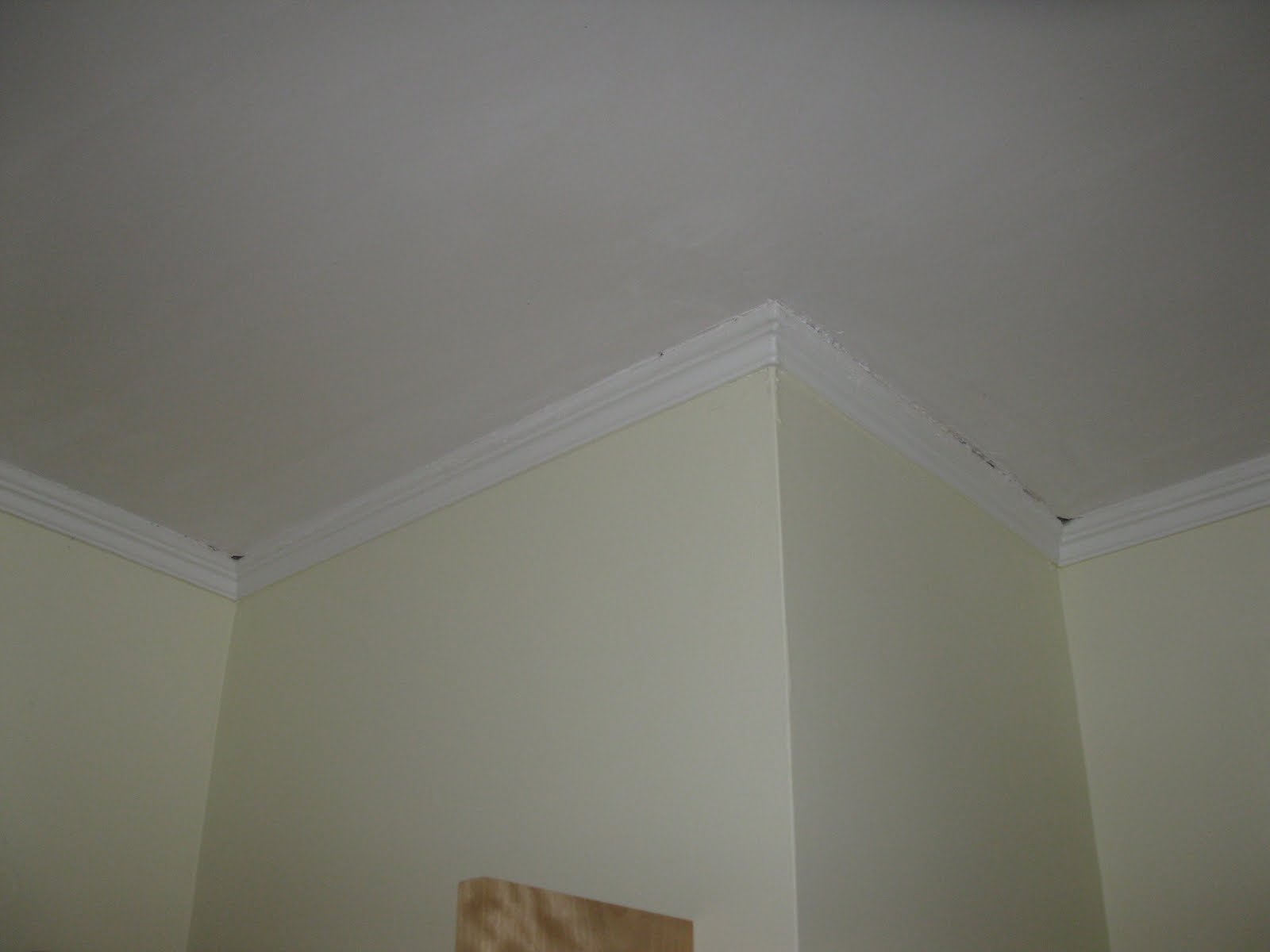 Installing Larger Over Smaller Crown Molding - A Concord