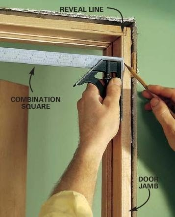 In many of these cases it is necessary to install \u201cextension jambs.\u201d An extension jamb is a thin strip of wood that makes p the difference between the door ... & Tip for installing Door Casing - A Concord Carpenter