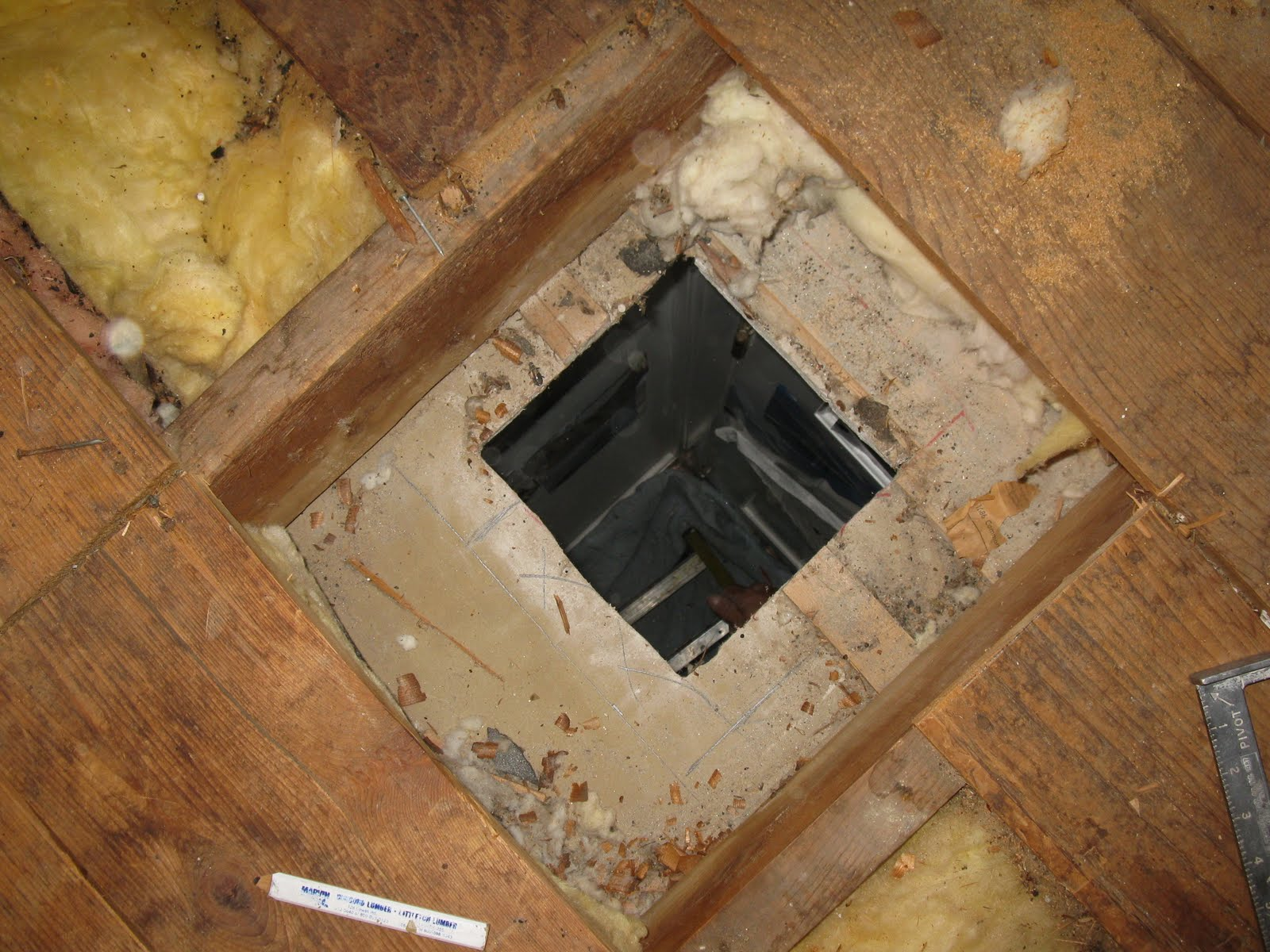 How to cut base molding around wall vent - Wood Blocking Was Added Around The Vent Box I Swear The Hvac Installers Don T Understand The Importance Of Adding Blocking