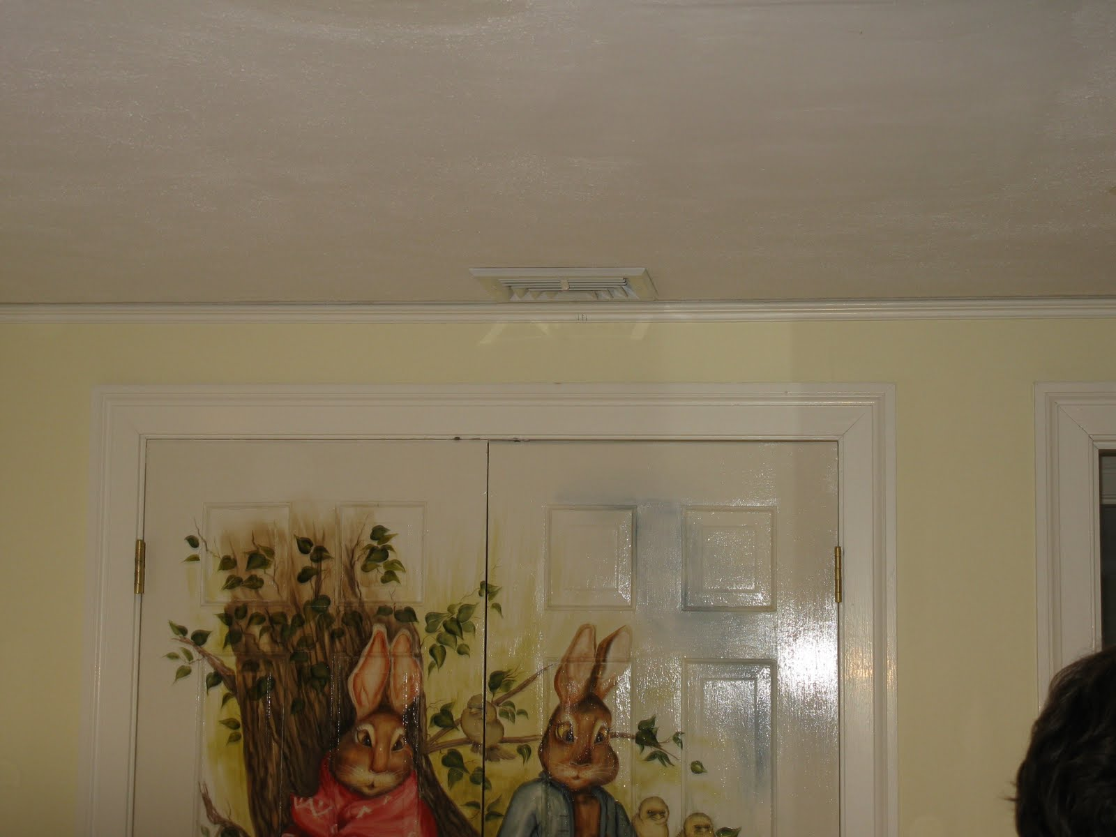 How to cut base molding around wall vent - New Vent Duct Installed And Insulated