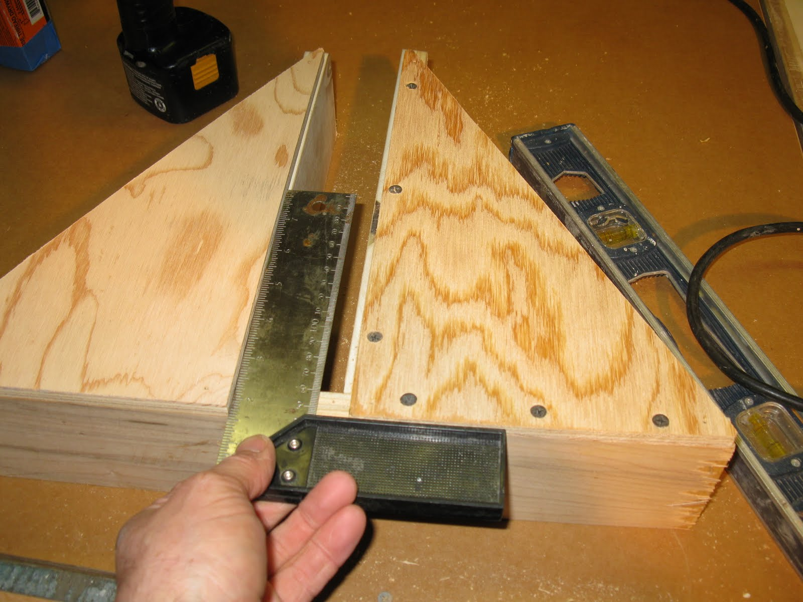Using A Door Buck To Fit a Door & Making And Using A Door Buck - A Concord Carpenter
