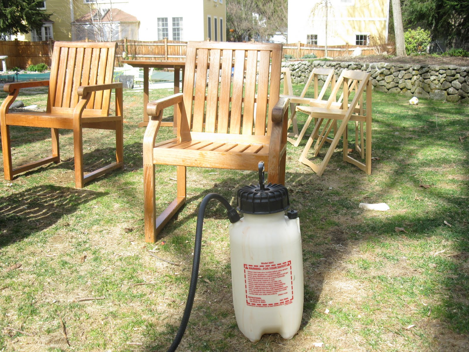 Cleaning Teak Furniture The Tool Reporter