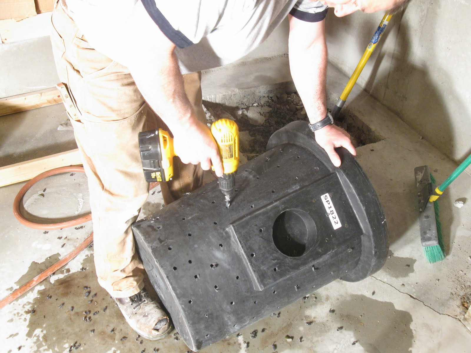 How To Install A Sump Pump Page 3 Of 4 A Concord Carpenter