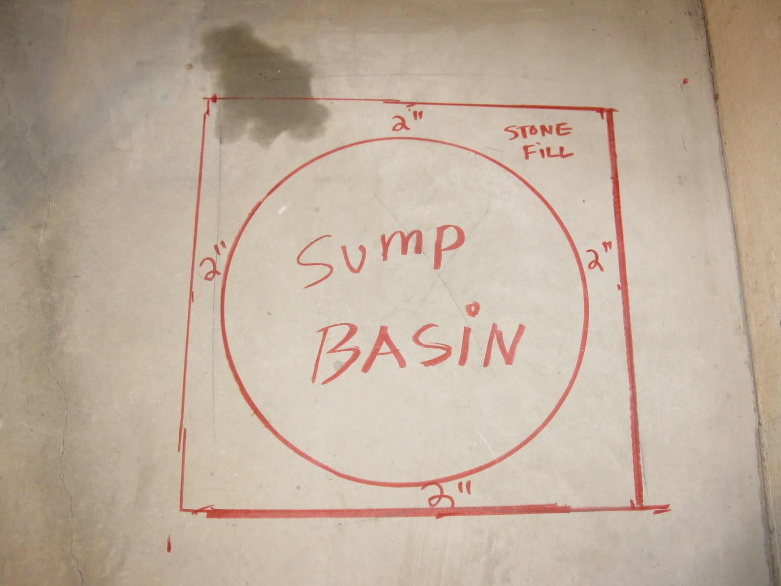 Determine Where The Pumps Discharge Pipe Is Going To Run Out Of Your Basement Most People Drill Through A Rim Or Header Joist Exit House