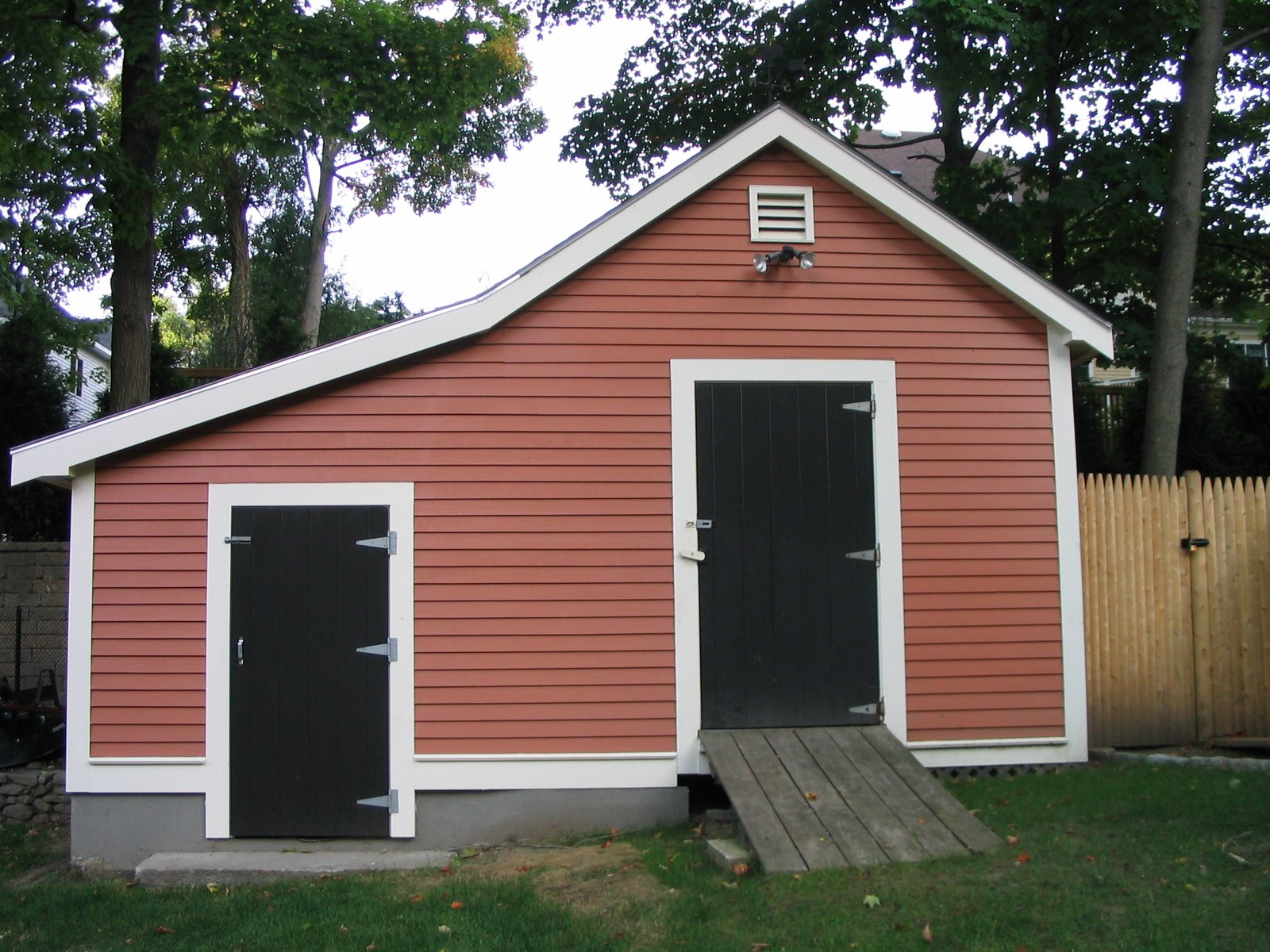 Building a pool house a concord carpenter Shed addition