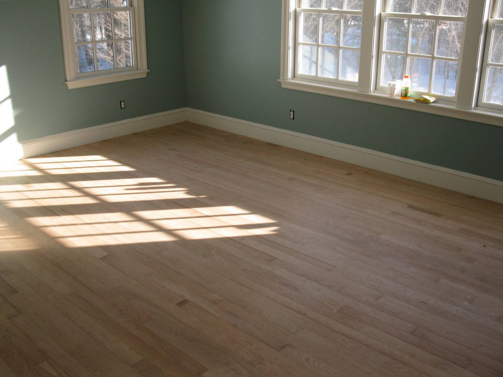 Installing cherry hardwood flooring a concord carpenter for Laying hardwood floors
