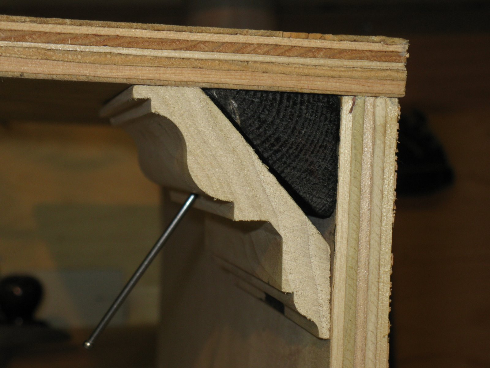 Installing Crown Molding To Metal Studs A Concord Carpenter