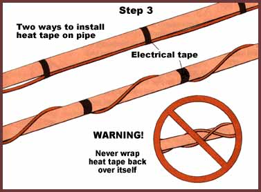preventing pipes from freezing a concord carpenter. Black Bedroom Furniture Sets. Home Design Ideas