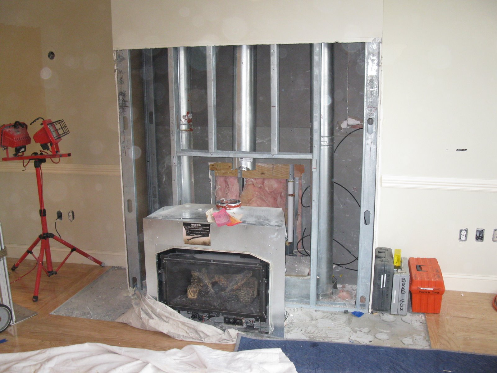 gas fireplace retrofit a concord carpenter
