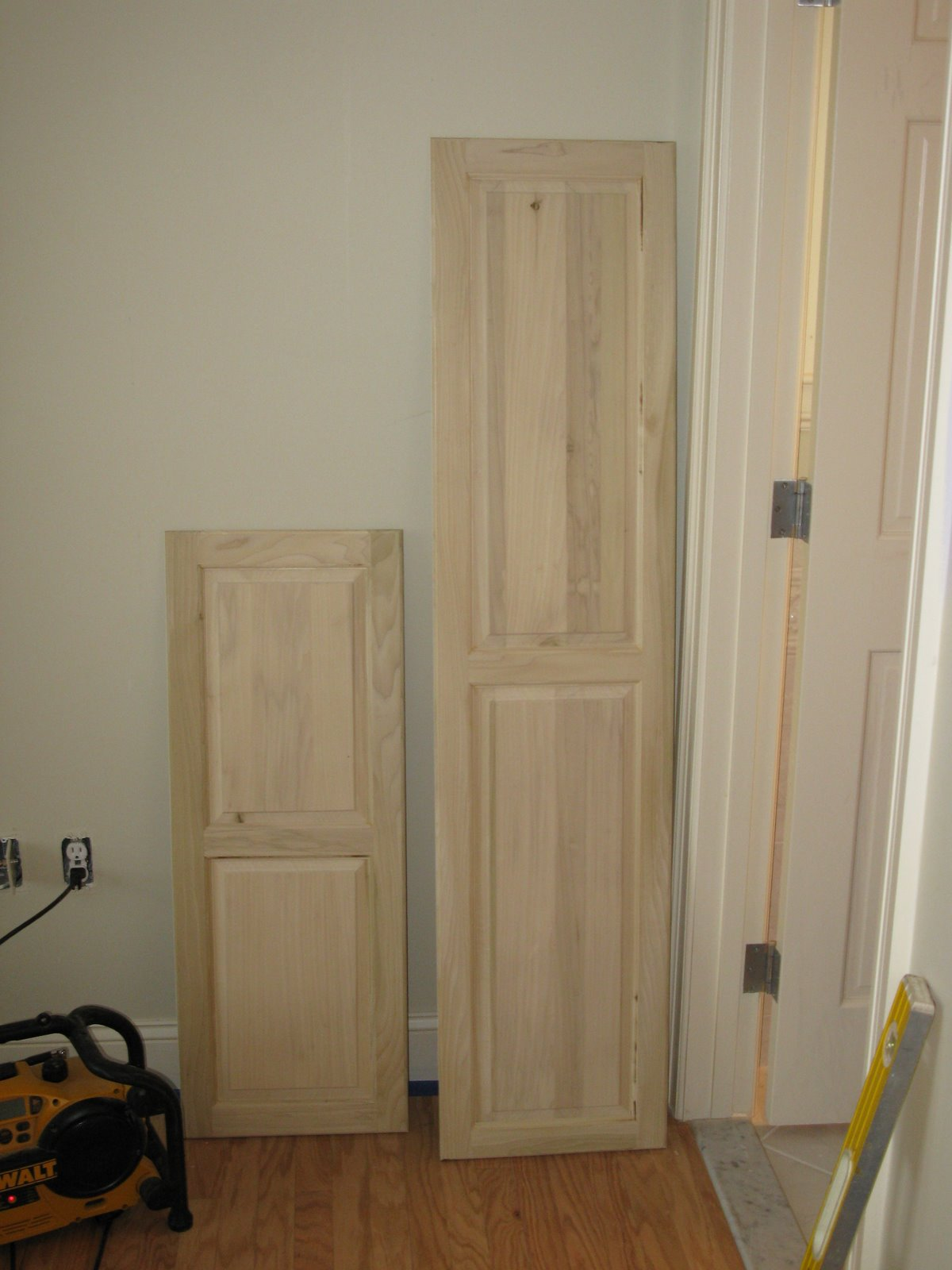 Custom Cabinet Door A Concord Carpenter