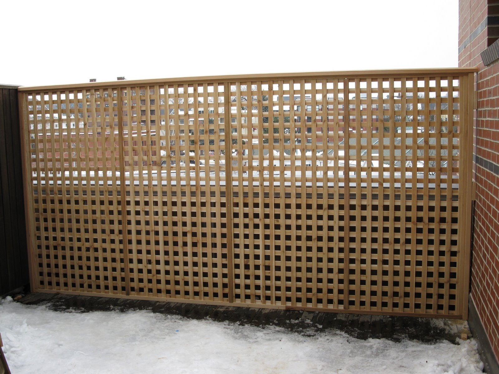 Deck privacy screen for Balcony privacy screen
