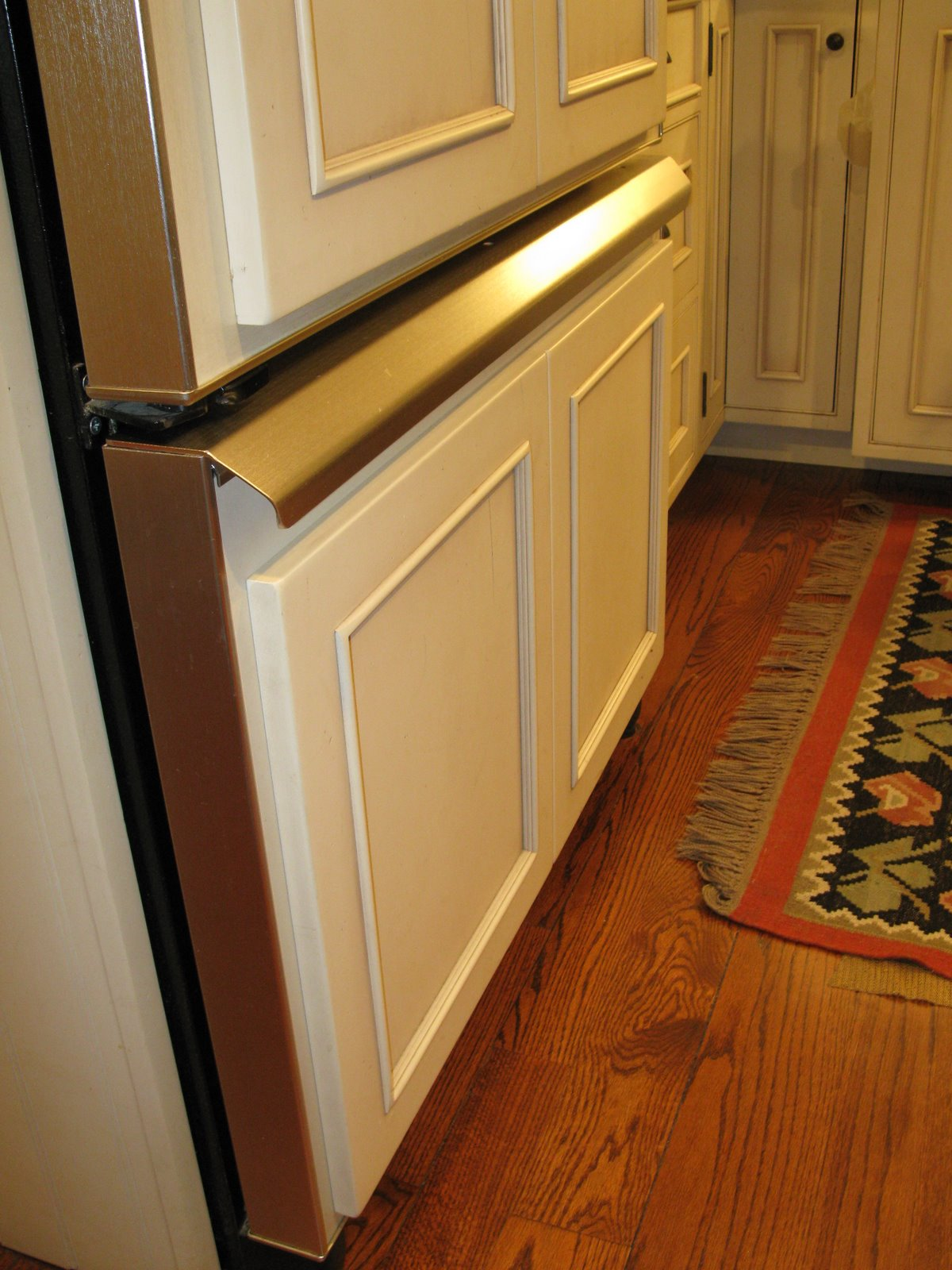 Installing A Custom Appliance Handle A Concord Carpenter