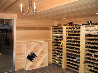 How to build a wine cellar & Building a wine cellar
