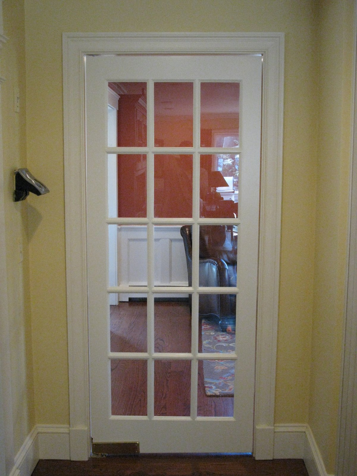 Restaurant Kitchen Door Hinges installing a swinging door - a concord carpenter