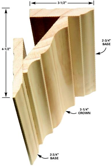 Installing Crown Molding A Concord Carpenter