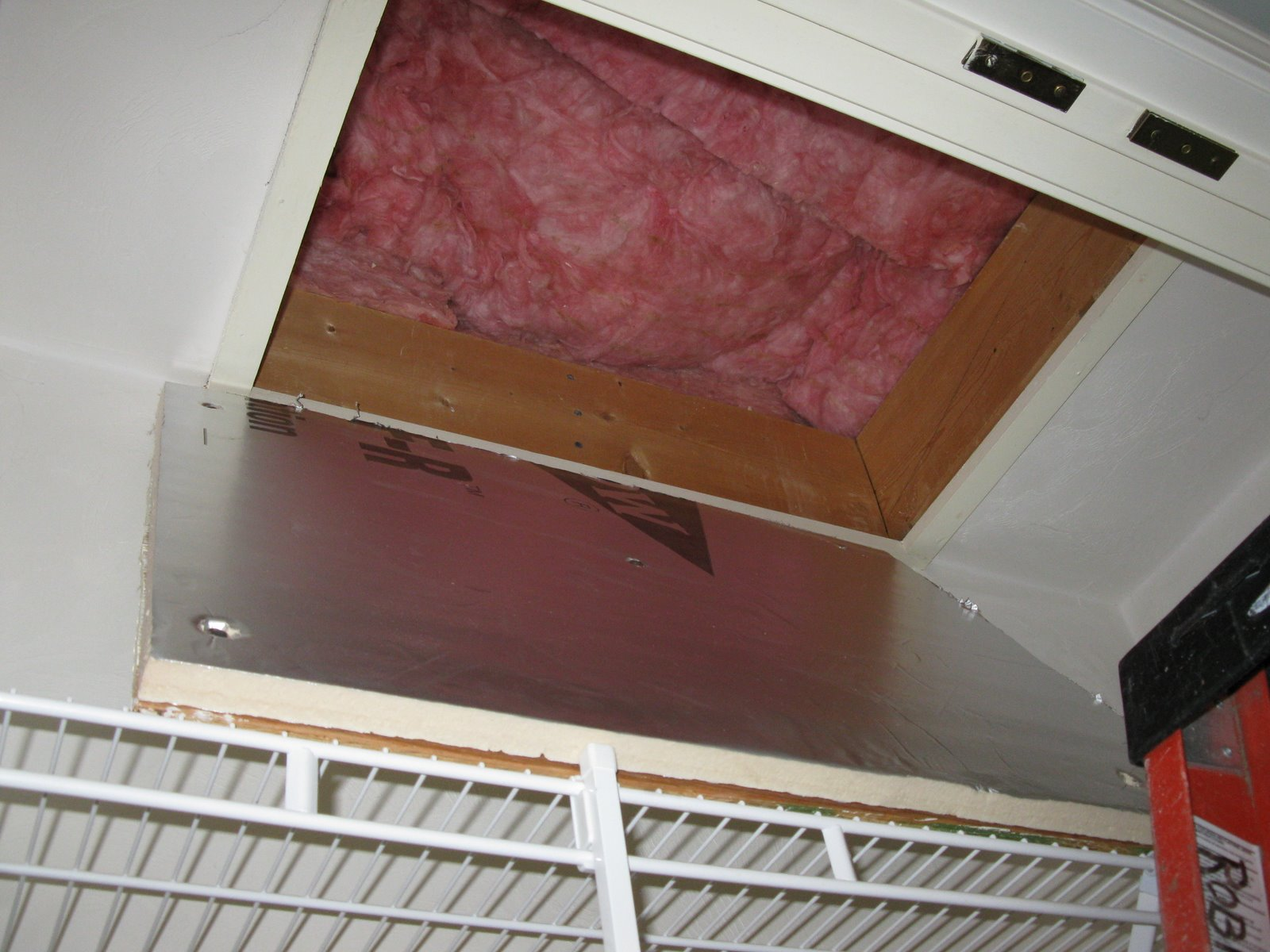 & How To Insulate An Attic Hatch