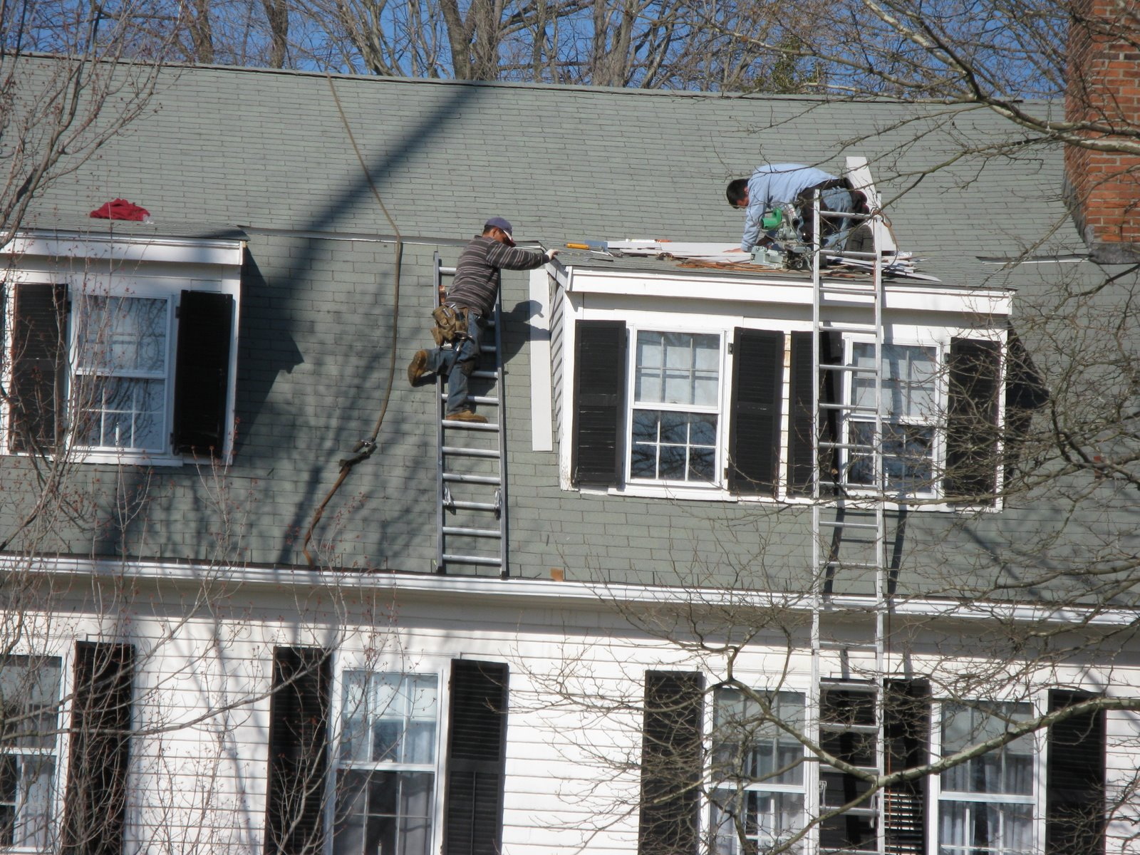 Roof And Ladder Safety A Concord Carpenter