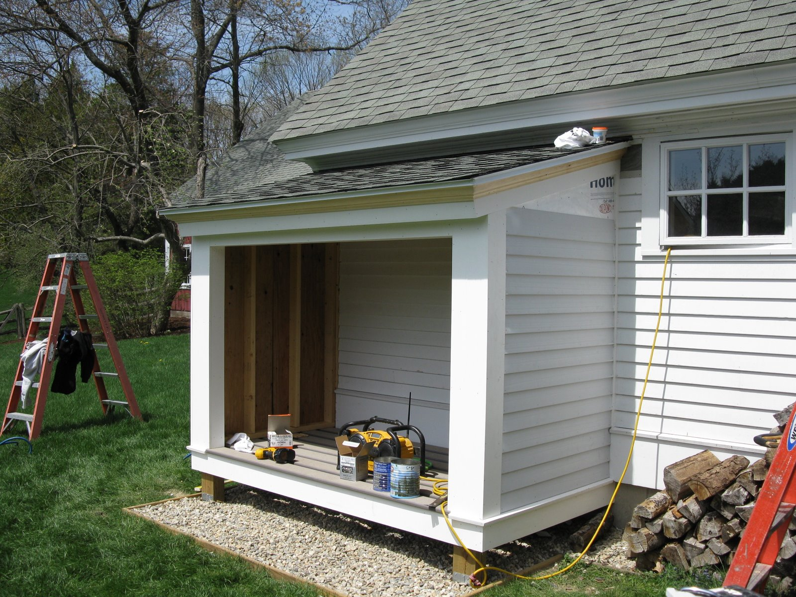 Firewood Shed A Concord Carpenter