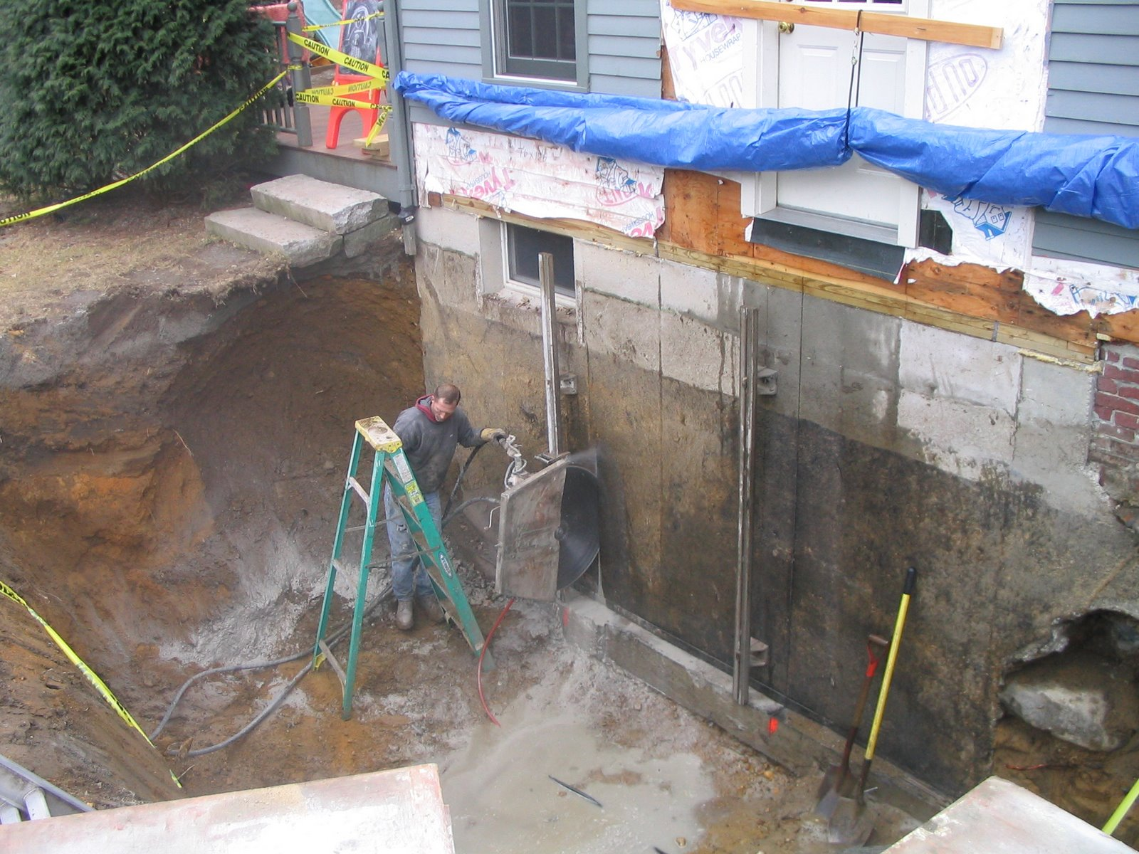 Foundation door concrete cutting costs