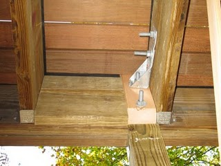 Galvanized connections to make your deck safe