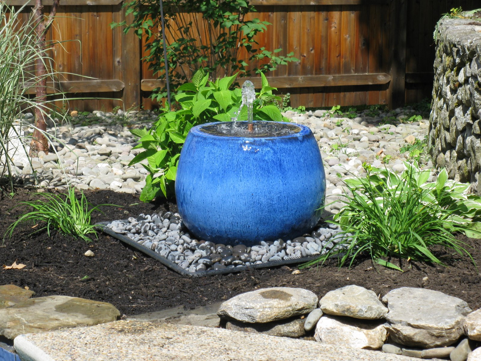 Hidden Water Basin I How To Build A Disappearing Water Fountain