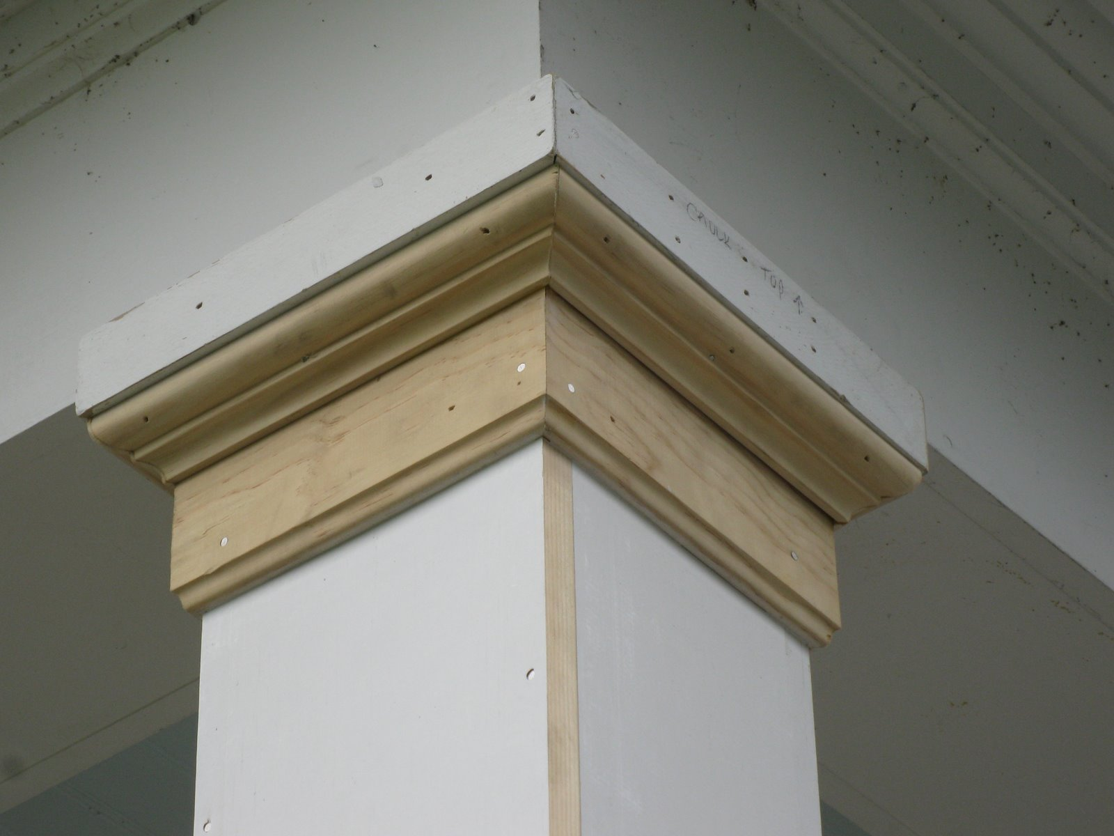 Column Molding Ideas Replacing A Wood Porch Post A Concord Carpenter