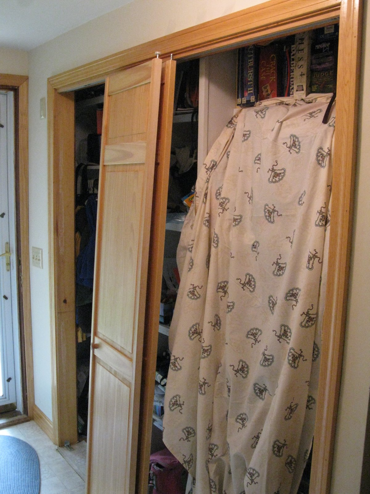 Bifold Door Alternatives Closet Door Upgrade A Concord Carpenter