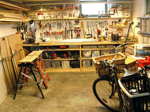 Workshop Lighting & How To Improve Your Garage Lighting - A Concord Carpenter