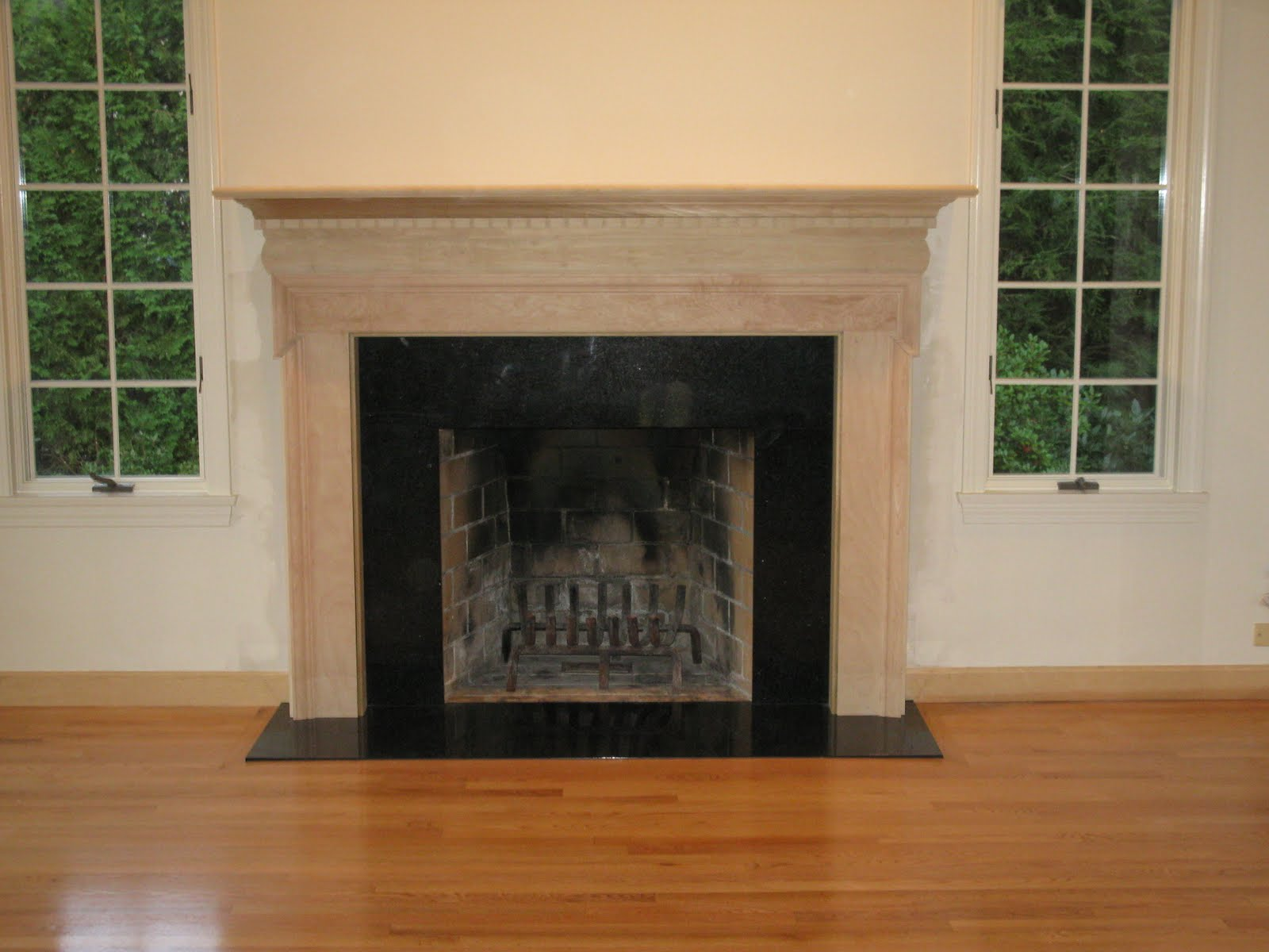 Adding a Fireplace Mantle - A Concord Carpenter