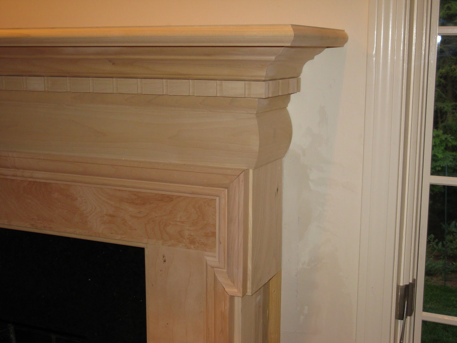 adding a fireplace mantle a concord carpenter