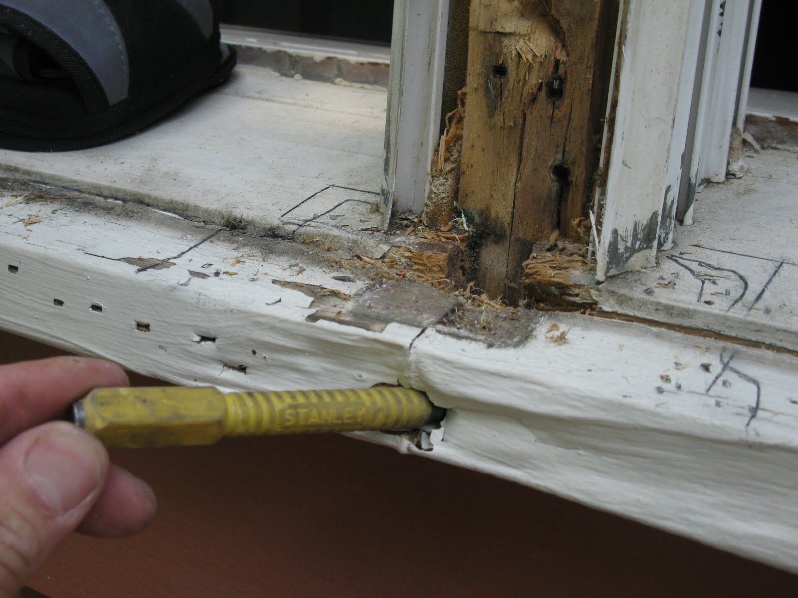 Repairing A Window Sill A Concord Carpenter