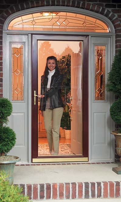 Choosing a storm door style a concord carpenter for Front entry storm doors