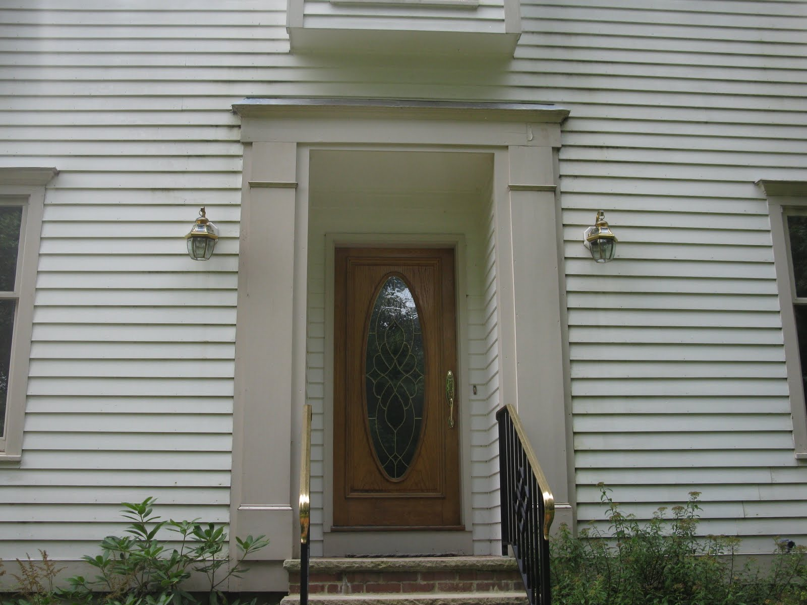 Replacing Front Door Trim A Concord Carpenter