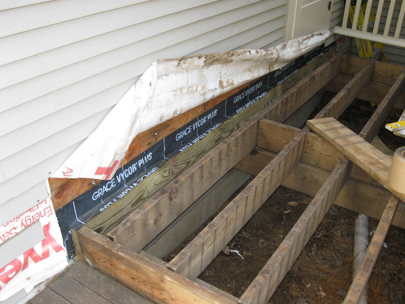 Deck building basics a concord carpenter for How to install decking