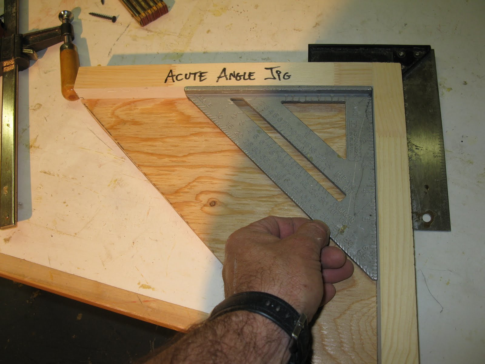 Cutting Acute Angles A Concord Carpenter