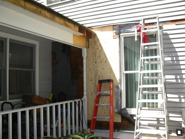 Improper Roof And Side Wall Flashing