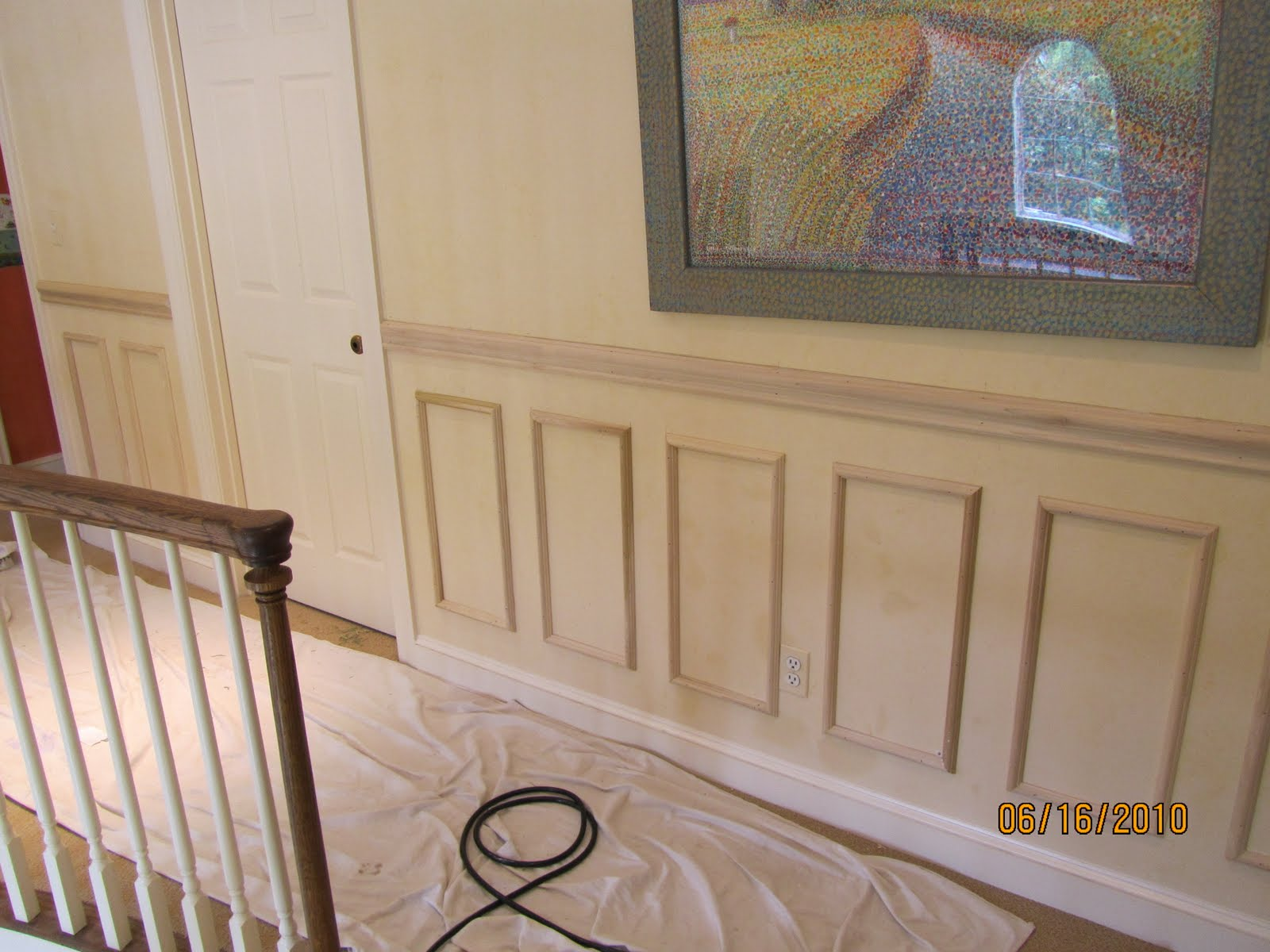 Faux Wainscoting Applied Moldings A Concord Carpenter