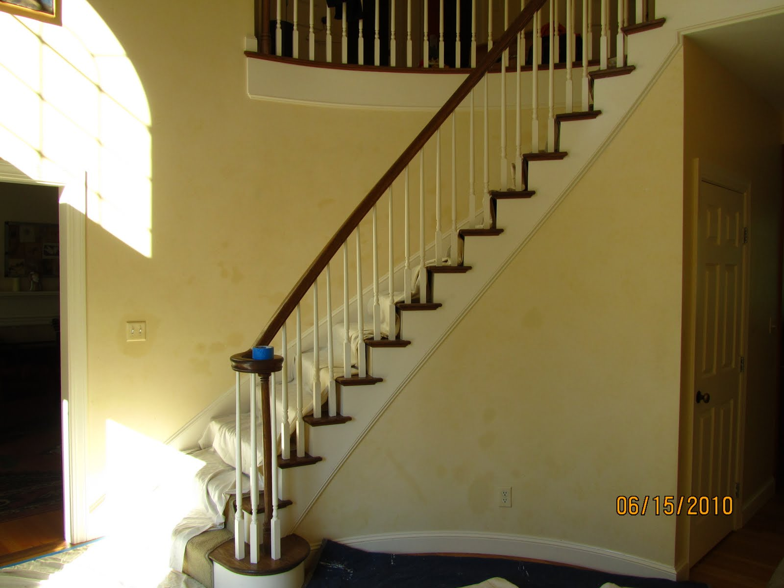 Adding Wainscoting Molding To A Curved Wall
