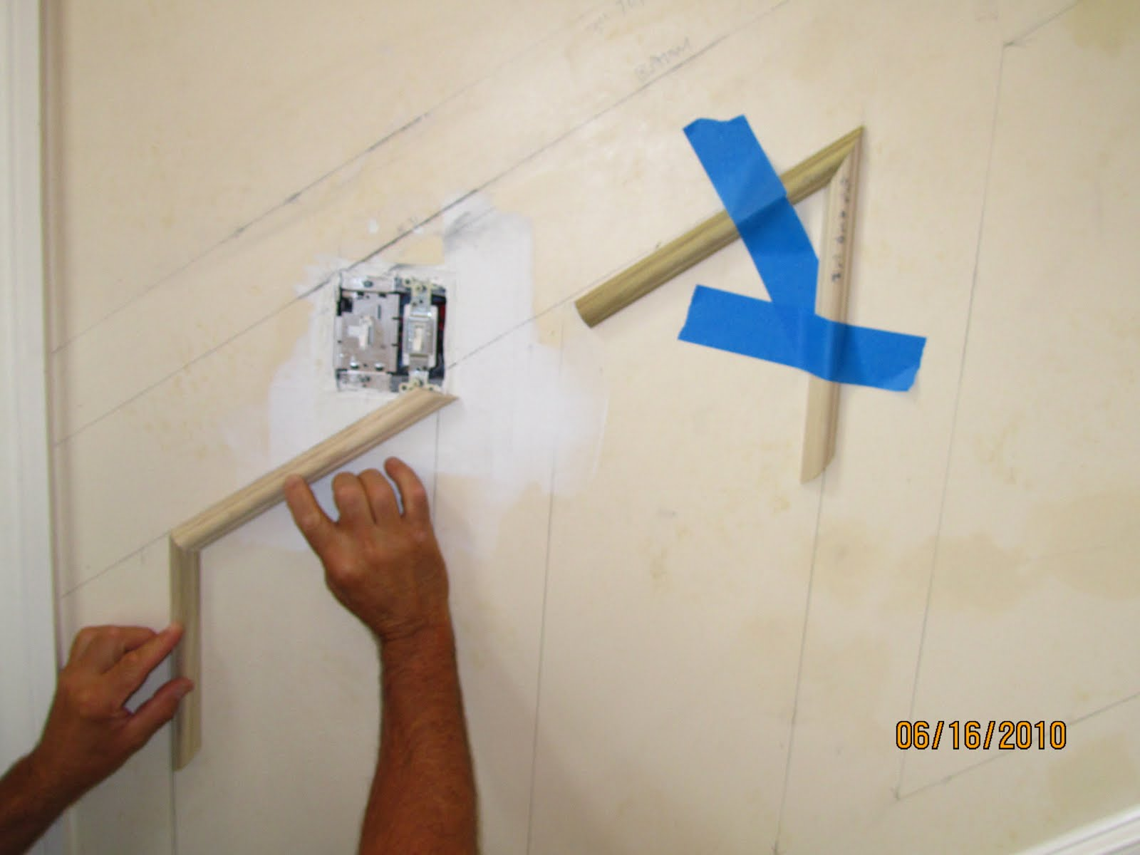 Installing Molding To A Curved Wall