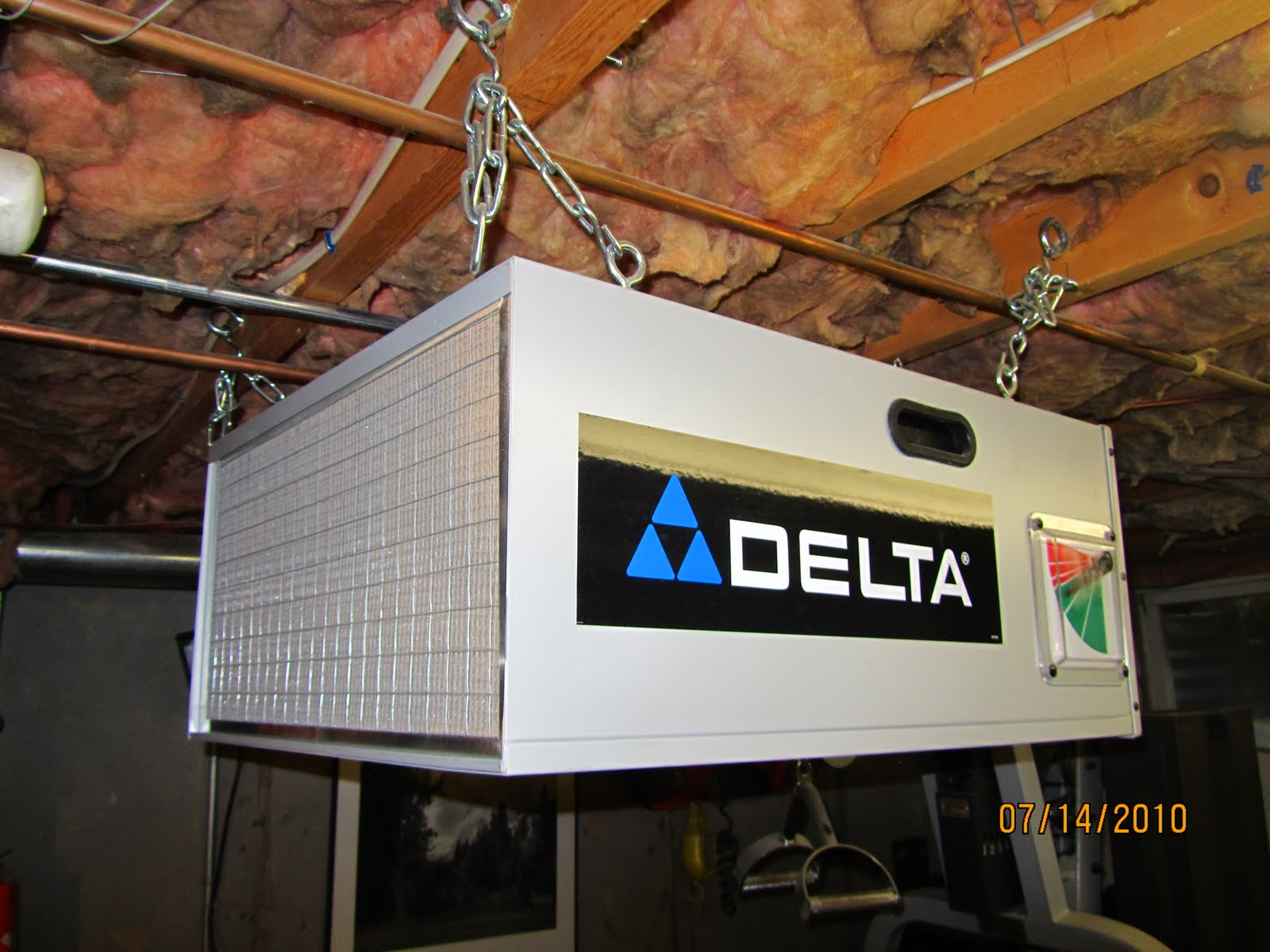 Delta Air Cleaner Filters : Dust filtration system a concord carpenter