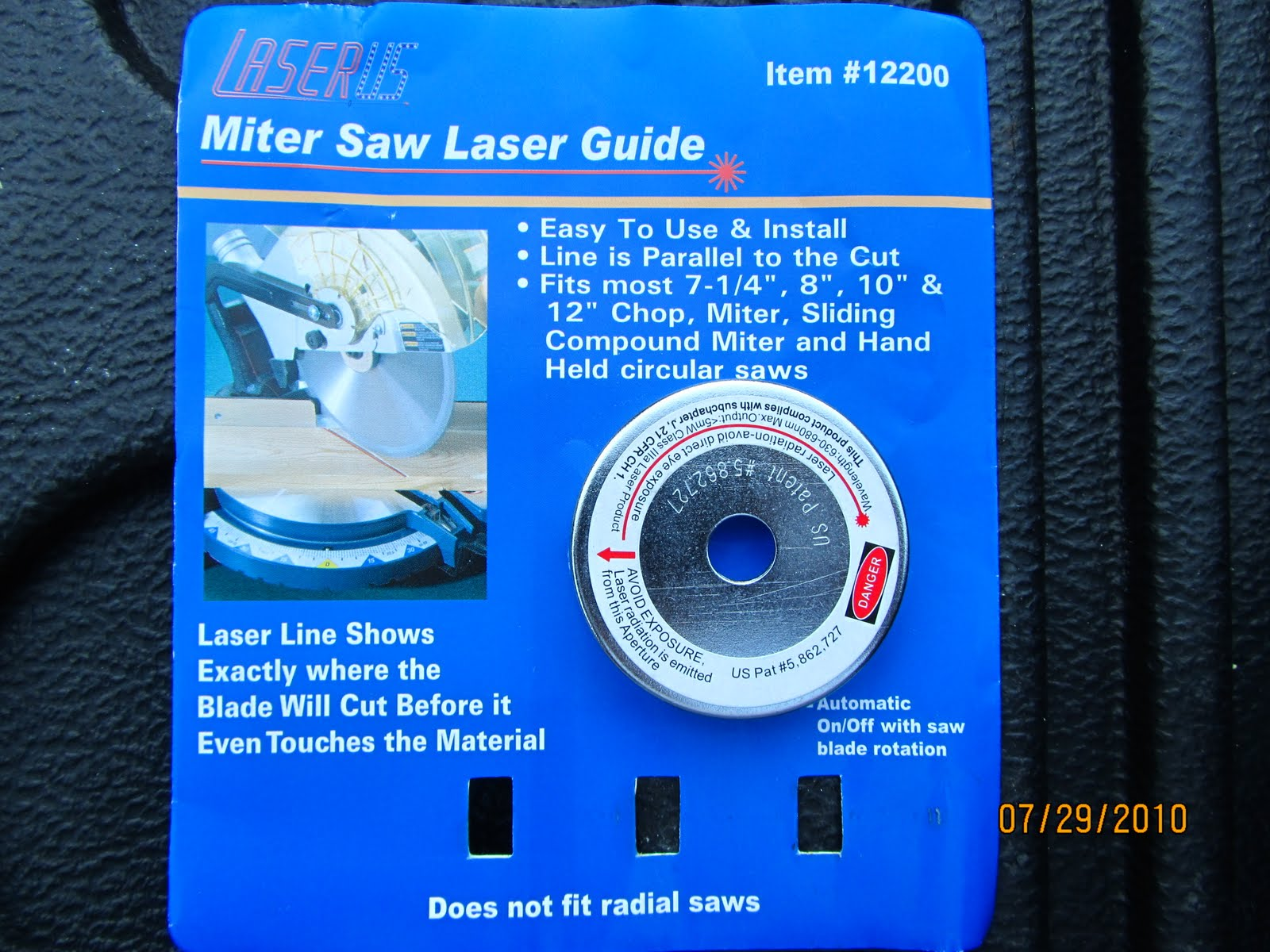 Laser guide for the miter saws a concord carpenter miter saw laser greentooth Images