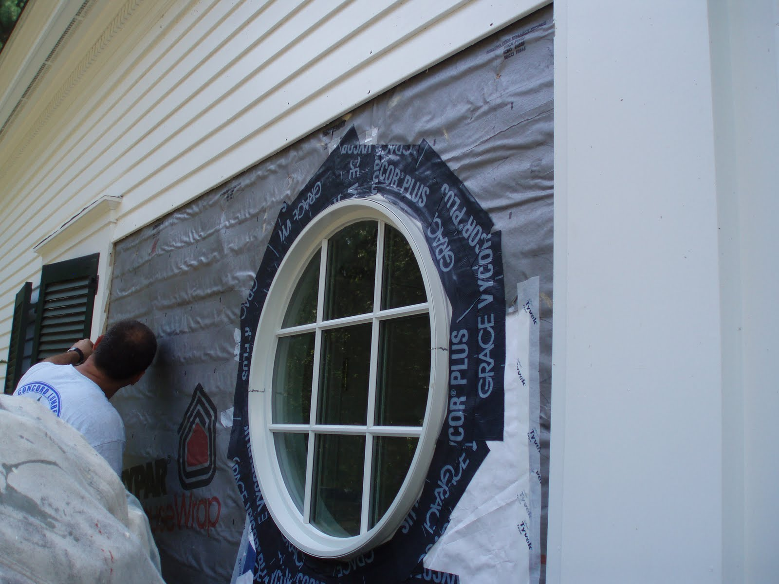 I Used This Trim Kit To Scribe My Clapboards But You Could Also Easily Use A Compass And Set It Up Off The Window