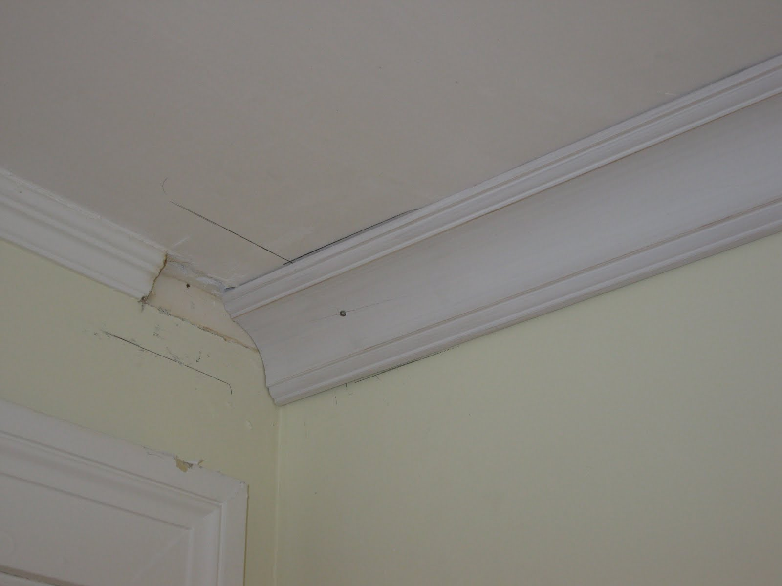 Installing Larger Over Smaller Crown Molding A Concord