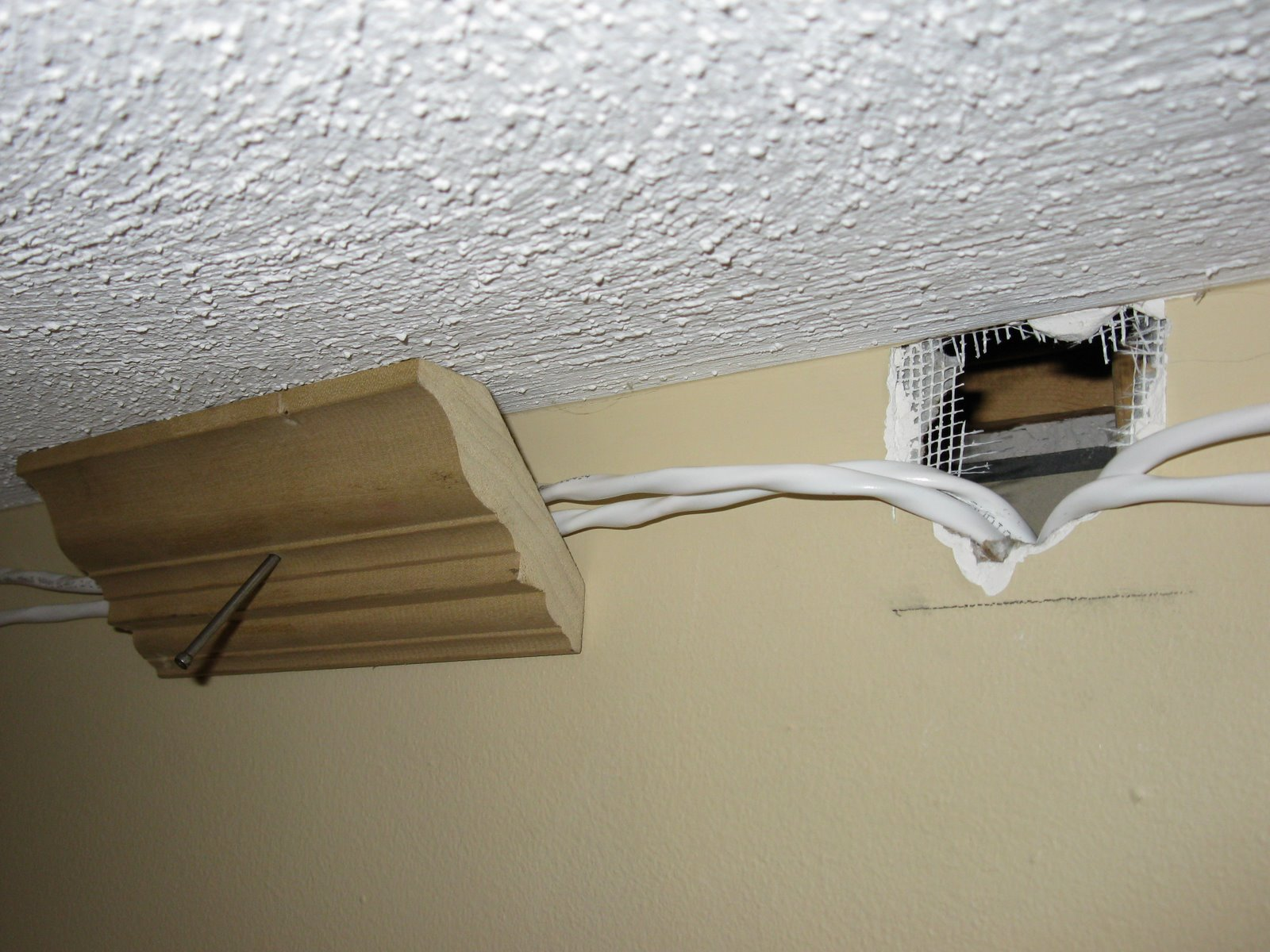 How To Install Speaker Wire Behind Crown Molding A Concord Carpenter Wiring Wall Plate This
