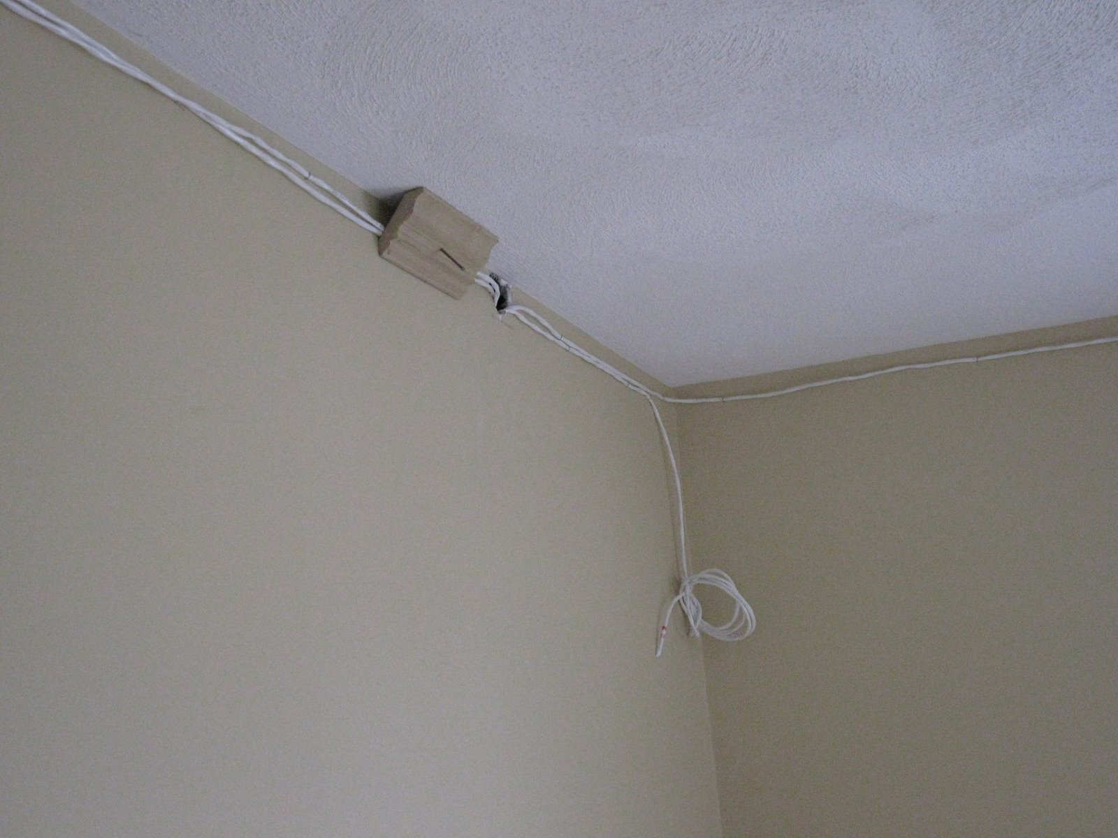 How To Install Speaker Wire Behind Crown Molding A Concord Carpenter Wiring Finished Basement Hiding The Wires In Stud Bay